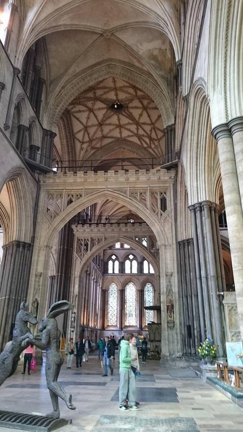 La cathedrale de salisbury 1